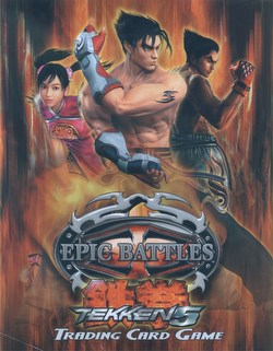 Epic Battles: Tekken 5 Theme Starter Deck Box