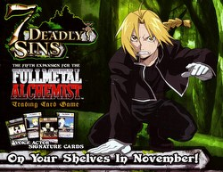 Full Metal Alchemist CCG: Seven [7] Deadly Sins Booster Box