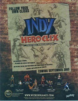 HeroClix: Indy [4 starters]