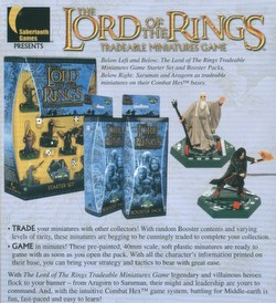 Lord of the Rings Miniatures Game [TMG]: Booster Case [36 boosters]