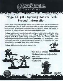 Mage Knight: Uprising [12 Boosters]