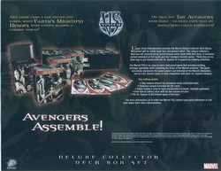 Marvel VS: Avengers Collector's Tin Case [6 tins]