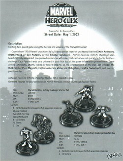 HeroClix: Marvel Infinity Challenge Booster Case [48 boosters]