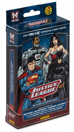 Meta X: Justice League Starter Deck Box