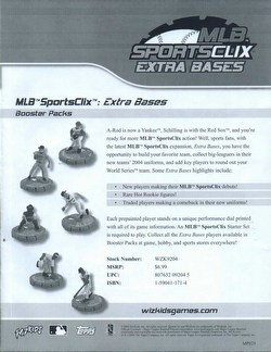MLB SportsClix: 2004 Extra Bases Booster Case [48 packs]