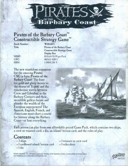 Pirates of the Barbary Coast Constructible Strategy Game [CSG]: Boosters (Lot of 36 packs)