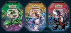 Pokemon TCG: Legendary EX Tin Case [9 tins]