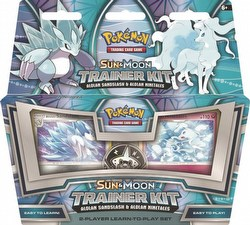 Pokemon TCG: Alolan Sandslash & Alolan Ninetales Trainer Kit Box