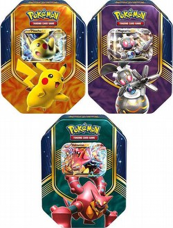 Pokemon TCG: 2016 Fall Battle Heart Tin Case [12 Tins]