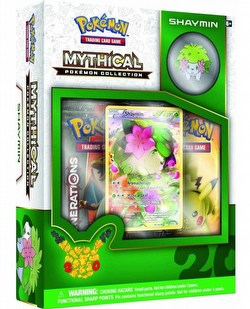 Pokemon TCG: Mythical Pokemon Collection - Shaymin Case [24 boxes]