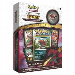 Pokemon TCG: Shining Legends Zoroark Pin Collection Case [24 boxes]