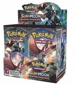 Pokemon TCG: Sun & Moon Burning Shadows Booster Box Case [6 boxes]
