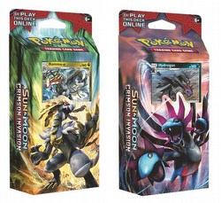 Pokemon TCG: Sun & Moon Crimson Invasion Theme Starter Deck Box