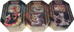 Pokemon TCG: Spring 2016 Triple Power Tin Case [12 Tins]