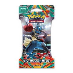 Pokemon TCG: XY Furious Fists Booster Lot [24 Sleeved Booster Packs]