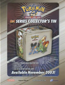 Pokemon TCG: EX Holiday Tin Case [15 tins]