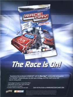 NASCAR Race Day Constructible Racing Game: Booster Box [18 packs]
