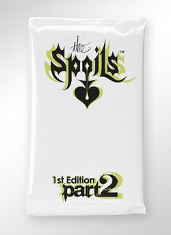 The Spoils Trading Card Game [TCG]: 1st Edition Part 2 Expansion Booster Case [12 boxes]