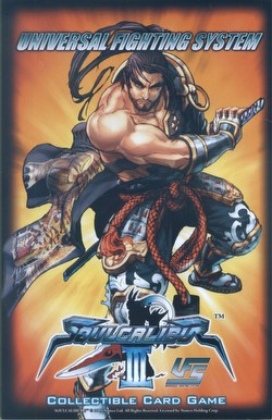 Universal Fighting System [UFS]: Soulcalibur III Starter Deck Box