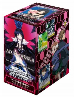 Weiss Schwarz (WeiB Schwarz): Accel World Booster Case [English/16 boxes]