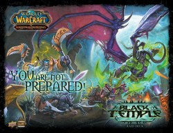 World of Warcraft Trading Card Game [TCG]: Black Temple Raid Deck Box