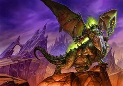 World of Warcraft Trading Card Game [TCG]: Magtheridon's Lair Raid Deck Box