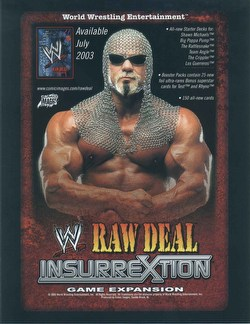 Raw Deal CCG: Insurrextion Big Poppa Pump Starter Deck