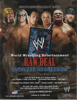 Raw Deal CCG: Ruthless Aggression 2-Player Set