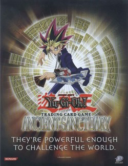 Yu-Gi-Oh: Ancient Sanctuary Booster Box Case [Unlimited/12 boxes]