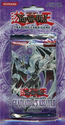 Yu-Gi-Oh: Gladiator's Assault Blister Booster Box [1st Edition/20 packs]
