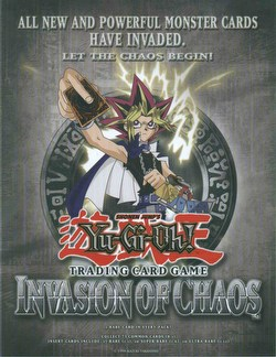 Yu-Gi-Oh: Invasion of Chaos Booster Box Case [1st Edition/12 boxes]