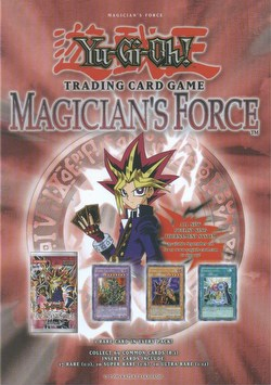 Yu-Gi-Oh: Magician's Force Booster Box [Unlimited/36 packs]