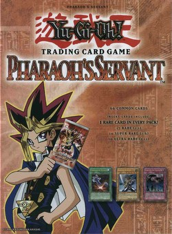 Yu-Gi-Oh: Pharaohs Servant Booster Box Case [Unlimited/12 boxes]