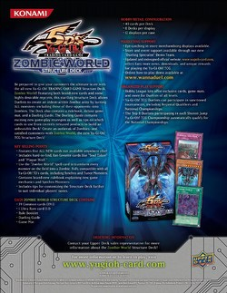 Yu-Gi-Oh: Zombie World Structure Starter Deck Box [1st Edition]