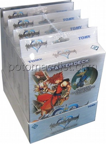 Kingdom Hearts: Base Set Starter Deck Box