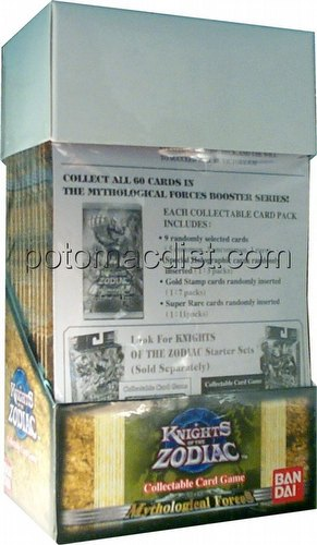 Knights of the Zodiac: Mythological Forces Booster Box [Retail]
