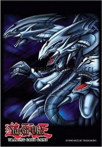 Konami Yu-Gi-Oh Blue-Eyes Ultimate Dragon Card Sleeves (Deck Protectors) Box