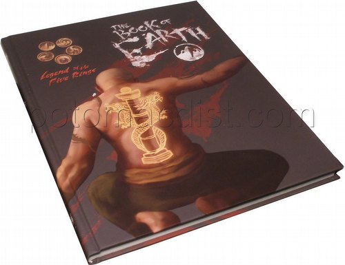 Legend of the Five Rings [L5R] Role Playing Game [RPG]: 4th Edition Book of Earth Book (HC)