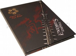 Legend of the Five Rings [L5R] Role Playing Game [RPG]: 4th Edition Enemies of the Empire Book (HC)