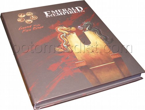 Legend of the Five Rings [L5R] Role Playing Game [RPG]: 4th Edition Emerald Empire Book (HC)