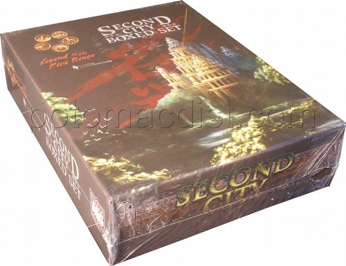 Legend of the Five Rings [L5R] Role Playing Game [RPG]: 4th Edition Second City Boxed Set