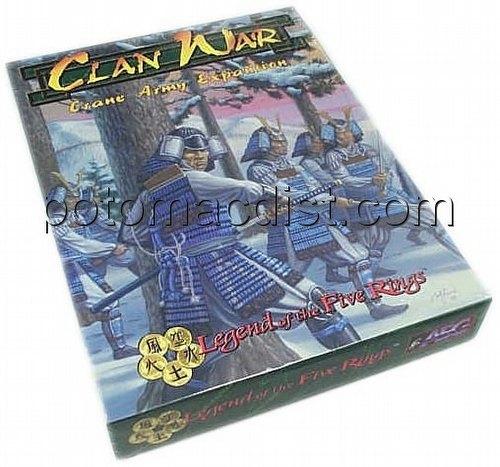 Legend of the Five Rings [L5R] CCG: Clan War Crane Exp.