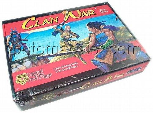 Legend of the Five Rings [L5R] CCG: Clan War Daimyo Ed. Box Set