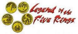 Legend of the Five Rings [L5R] CCG: Drums of War Starter Deck Set [Lion, Unicorn, Dragon]
