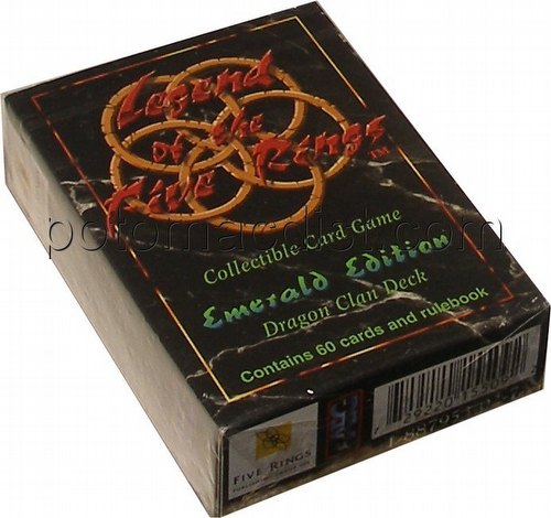 Legend of the Five Rings [L5R] CCG: Emerald Edition Dragon Starter Deck