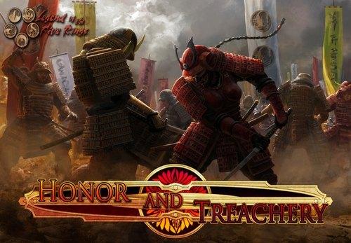 Legend of the Five Rings [L5R] CCG: Honor & Treachery Boxed Set Case [10 sets]