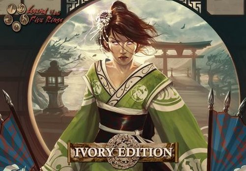 Legend of the Five Rings [L5R] CCG: Ivory Edition Starter Deck Box Case [3 boxes]