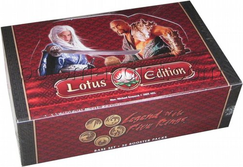 Legend of the Five Rings [L5R] CCG: Lotus Edition Booster Box