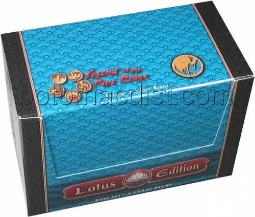 Legend of the Five Rings [L5R] CCG: Lotus Edition Foil Starter Deck Box