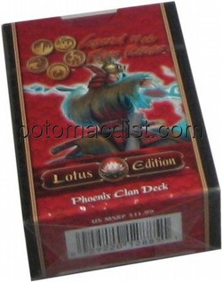 Legend of the Five Rings [L5R] CCG: Lotus Edition Phoenix Starter Deck